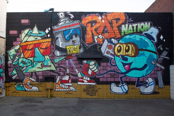rapnation wall