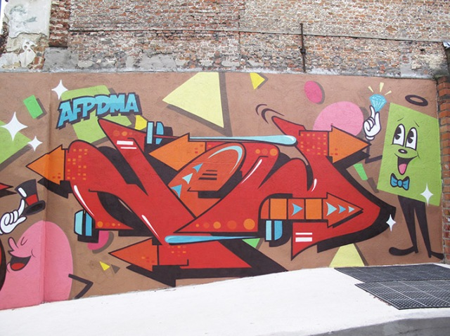 Belgium shapes wall 5